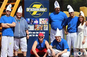 GeeZee-Team bei dem Radio7 Drachenkinder Event
