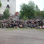 Gruppenbild von dem größten Event im Jahr 2015